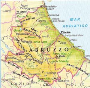 Cartina Dettagliata Abruzzo.Istat Dati Sui Cognomi Piu Diffusi Al Sud E Nelle Isole