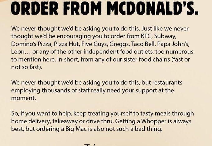 burger-king-pubblicita-mcdonald-crisi-covid-perche