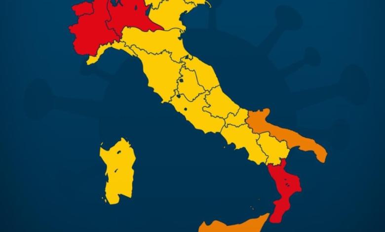 covid-6-regioni-rischio-passaggio-zona-gialla-arancione
