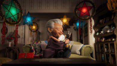 disney cortometraggio natale nonni