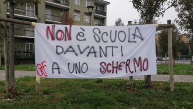 protesta studenti italiani Dad