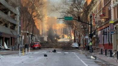 esplosione nashville 25 dicembre