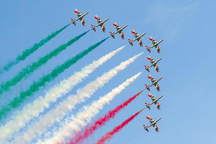 2 giugno frecce tricolore