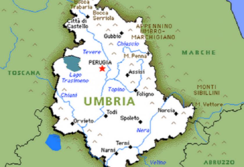Cartina Dell Umbria Con Tutti I Comuni.Elezioni Comunali 2021 In Umbria Dove Si Vota I Comuni Alle Urne