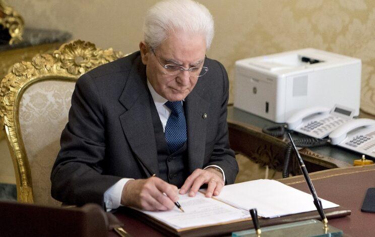 covid-mattarella-firma-nuovo-decreto-5-gennaio