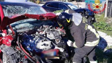 incidente-latina-via-appia-frontale-due-auto