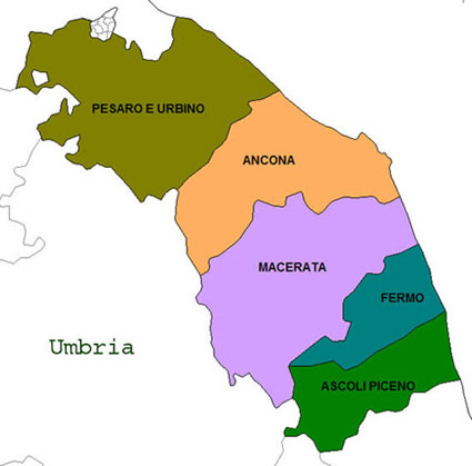Province Marche Cartina.Elezioni Comunali 2021 Nelle Marche Dove Si Vota I Comuni Alle Urne