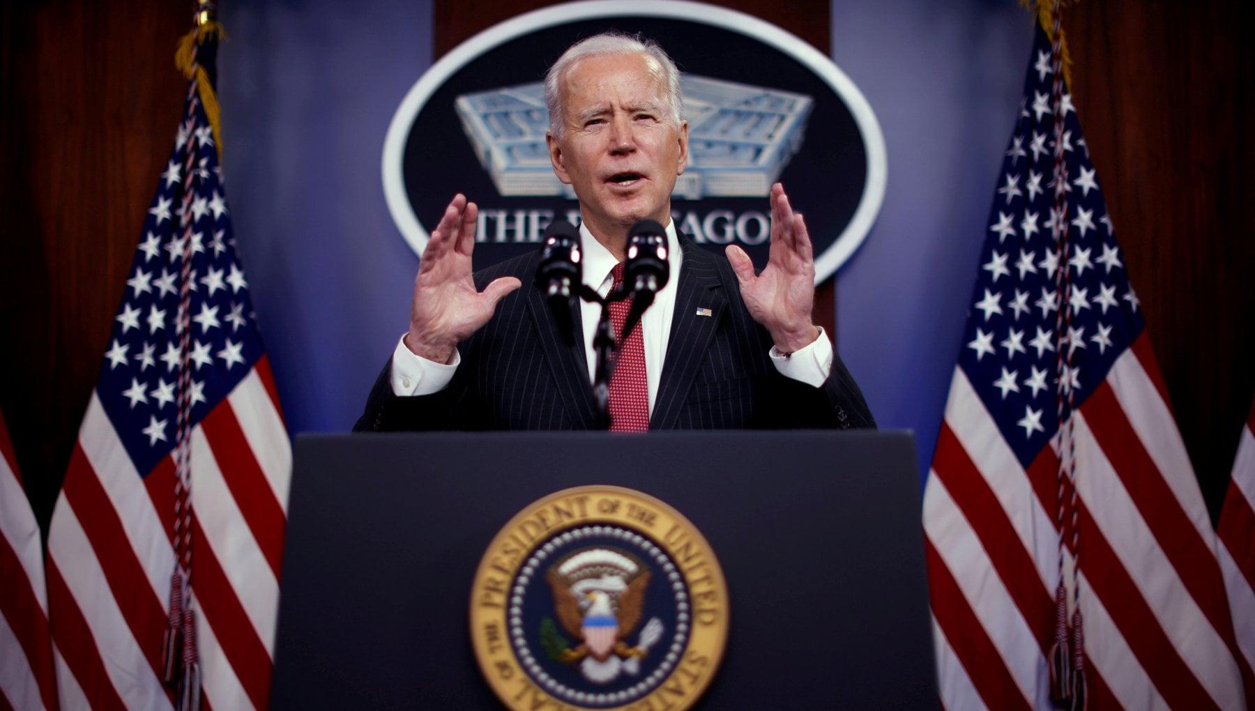 Attacco aereo Usa Siria Biden