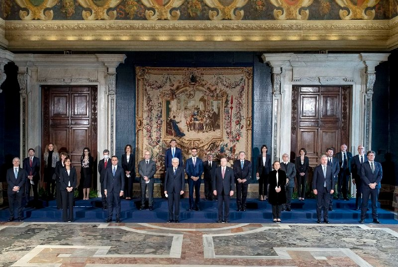 ROMA - Ufficialmente insediato il Governo Draghi