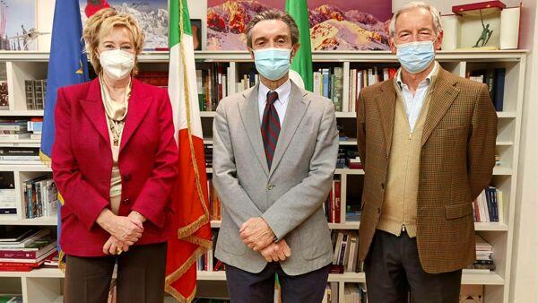 Covid in Lombardia: Bertolaso consulente per il piano vaccini