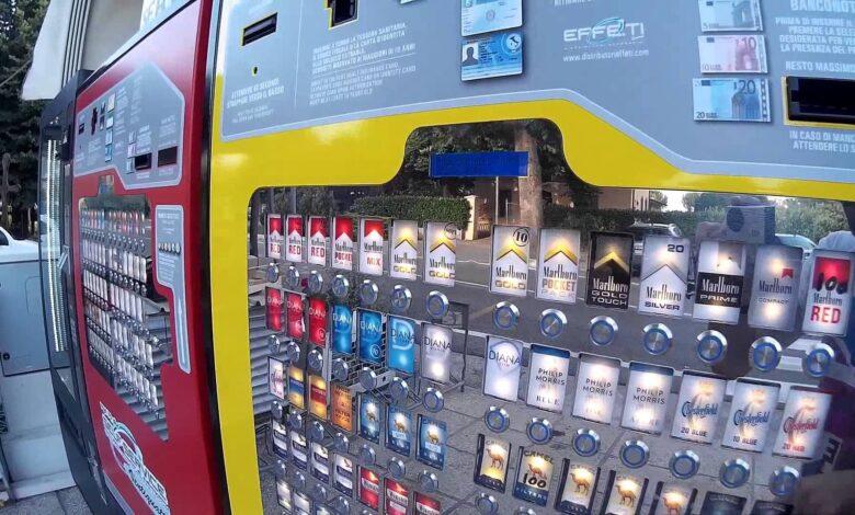 ladri tessera sanitaria distributore automatico