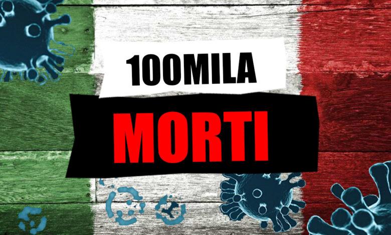morti covid italia