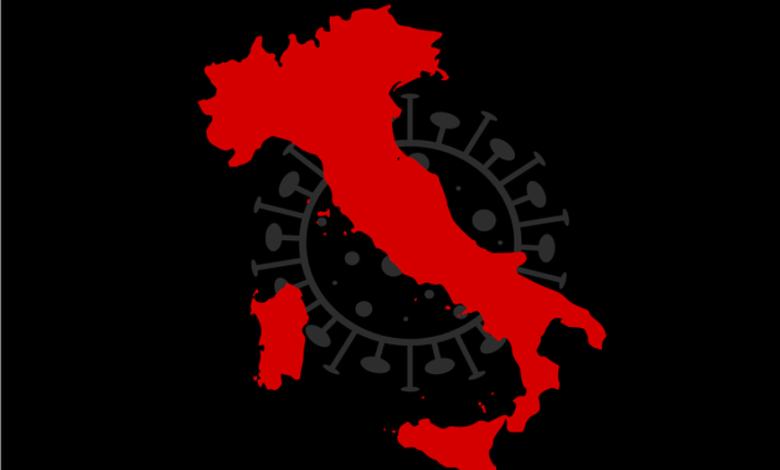 covid-regioni-italia-zona-rossa-scuro-mappa-ue