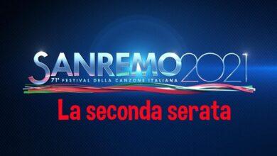Sanremo seconda serata 3 marzo