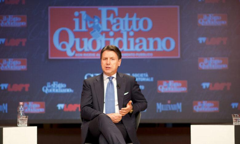 Giuseppe Conte commenta l'incontro di Matteo renzi all'Autogrill