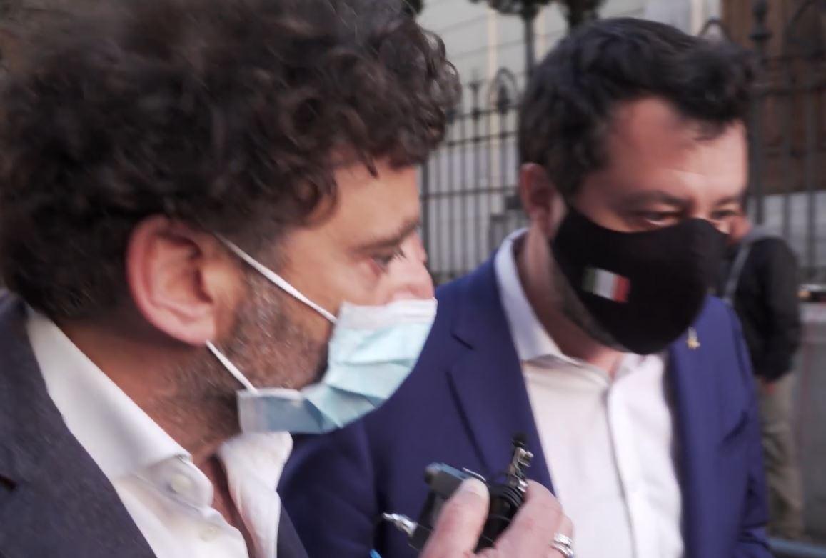 Salvini in difficoltà con Report