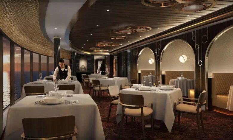 ristorante nave crociera wish disney