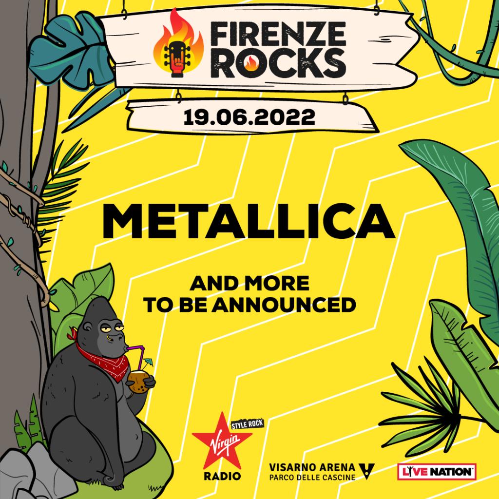 metallica-firenze-rocks-2022-data-biglietti-prezzi