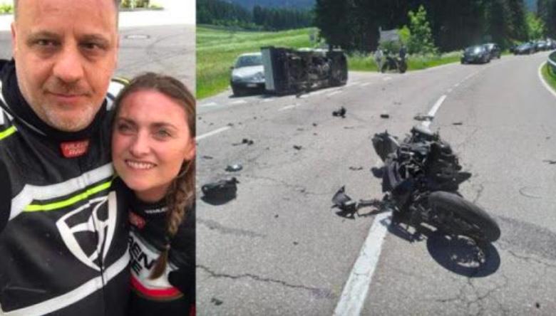 bolzano-furgone-moto-morto-carabiniere-grave-fidanzata