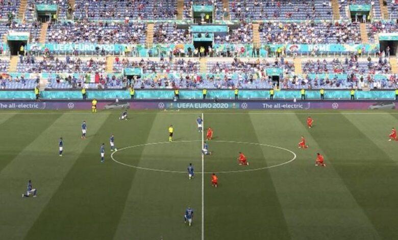partita-italia-galles-calciatori-inginocchiati-perche-chi