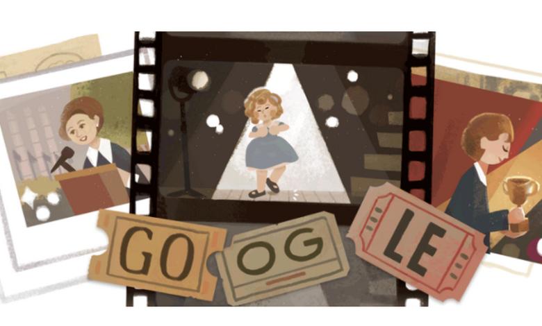 doodle-oggi-9-giugno-shirley-temple-chi-e-che-significa-riccioli-oro