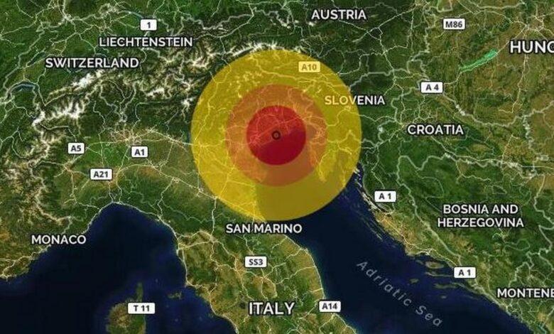 scossa-terremoto-oggi-venezia-eraclea-14-giugno-magnitudo-dove
