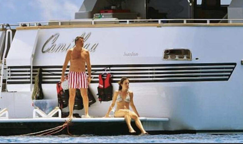 Renzi sullo Yacht