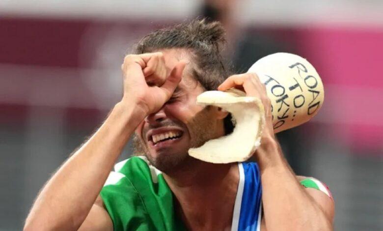 olimpiadi-tamberi-gesso-infortunio