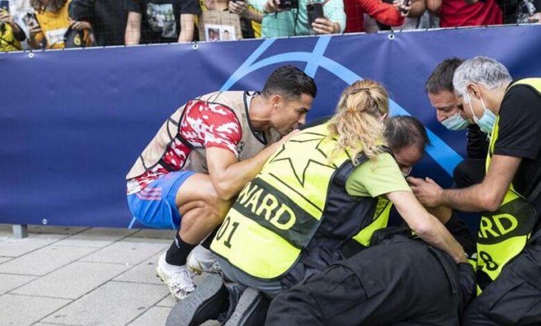 steward-colpita-cristiano-ronaldo-chi-e