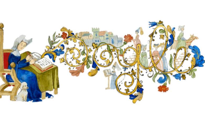 google-doodle-oggi-11-settembre-chi-e-christine-de-pizan