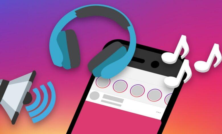 audio storie Instagram